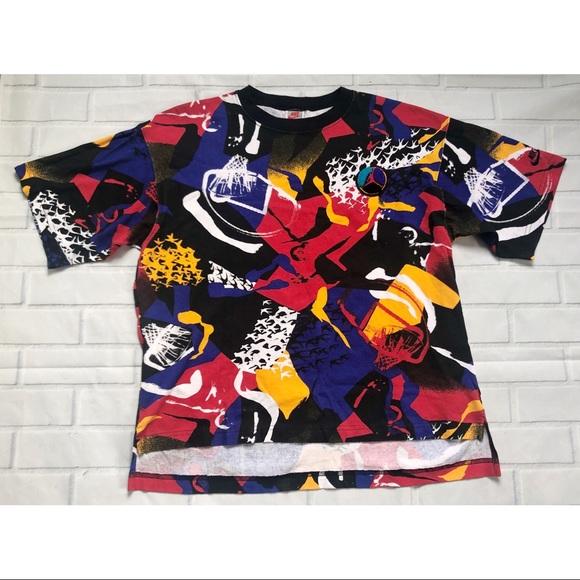 d4f47b1066887 RARE NIKE Retro Aqua 8 shirt